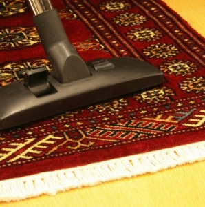 How to Clean a Rug - Vacuum