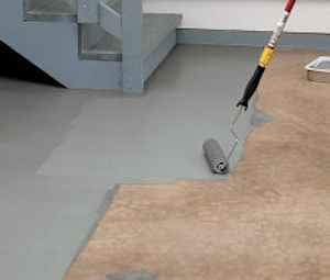 Painting Masonry - Concrete Slab Floor