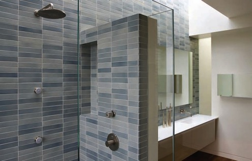 Cleaning Grout - Shower Stall