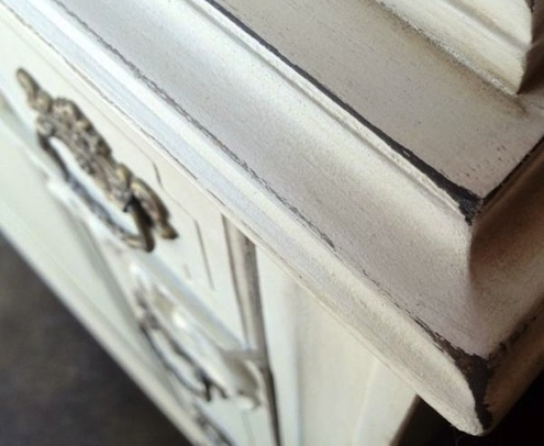 DIY Furniture Updates - Distressed Look
