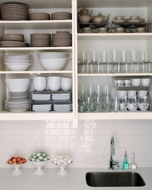 Kitchen Organization Tips - Think Vertical