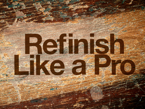 How to Remove Varnish and Other Wood Finishes