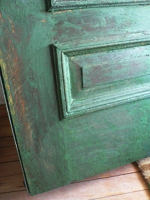Paint Stripping - Old Door