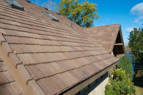 Composite roof shingles bob vila 39 s blogs for Davinci roof tiles pricing