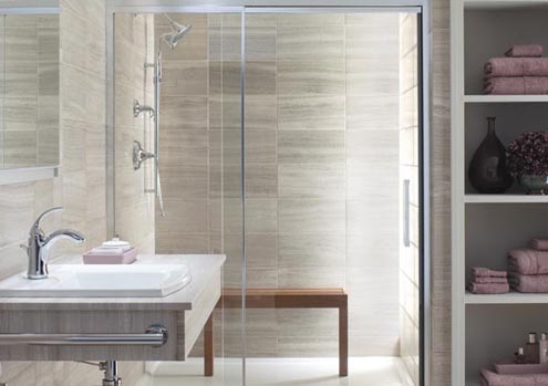 Clean Shower Doors - Modern Bath