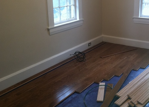 Prefinished or Unfinished Wood Flooring - Installation