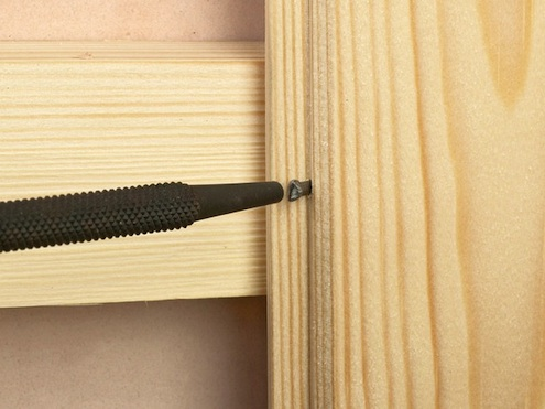 Install Wood Paneling - Nail Set