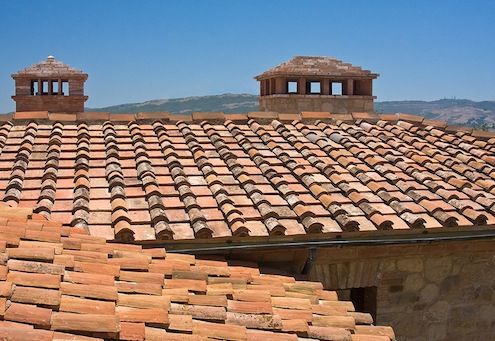 Tile Roofs - Reclaimed Clay