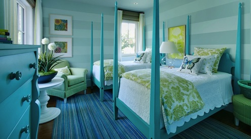 Home Color Ideas - Colorful Bedroom