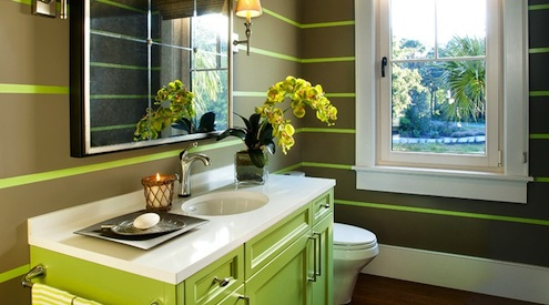 Home Color Ideas - Painted Stripes