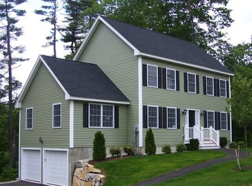 How to clean vinyl siding bob vila for Vinyl siding colors on houses