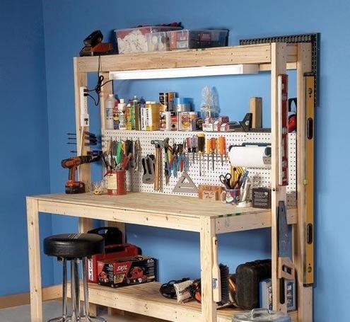 DIY Workbenches - Garage or Basement