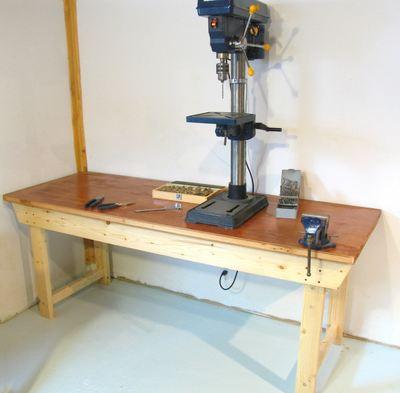 DIY Workbenches - Door Top