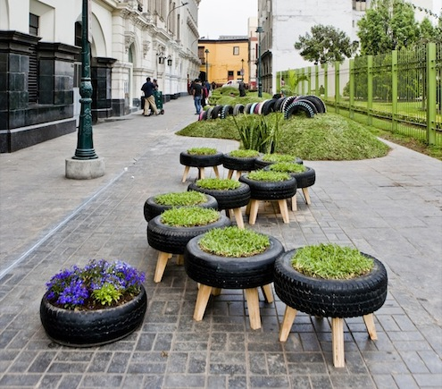 News portal 5 things to do with old tires for Recycle old things