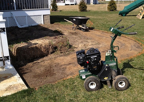 Move Sod - Cutting Machine