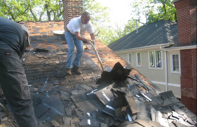 Hiring a Roof - Demolition
