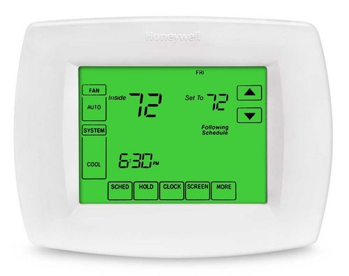 Honeywell VisionPro programmable thermostat