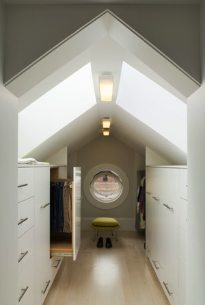 Attic Conversion - Storage