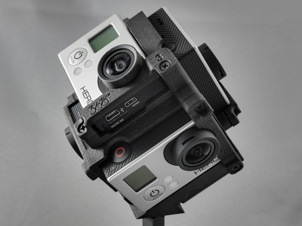 Freedom360 with GoPro Cameras