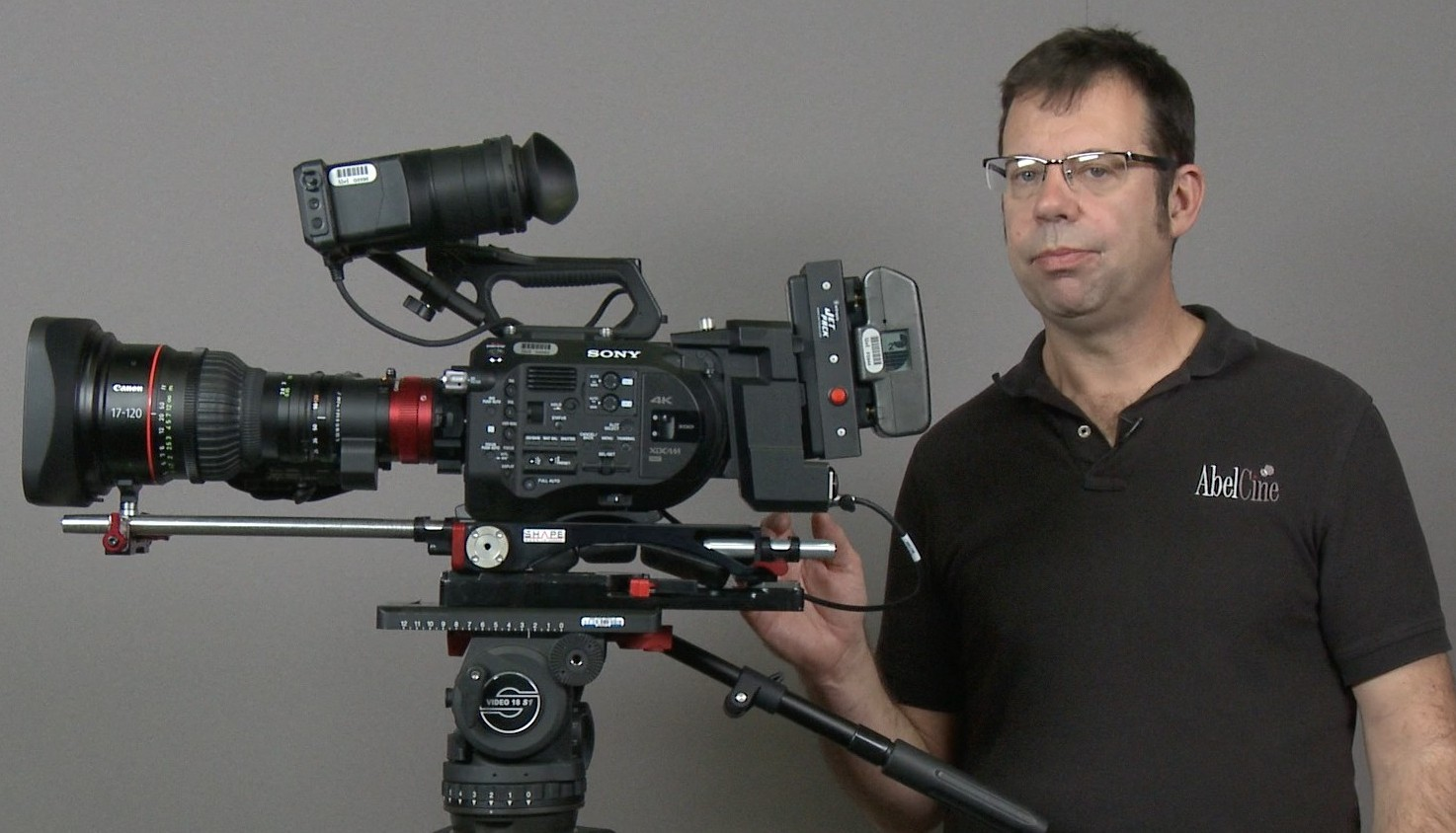 Canon Cine-Servo 17-120 Multiple Camera Configurations