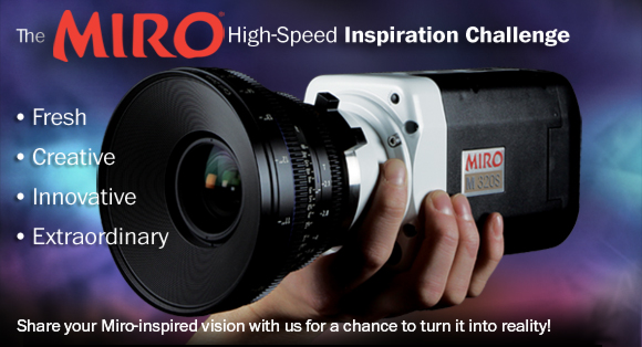 Phantom Miro High-Speed Inspiration Challenge