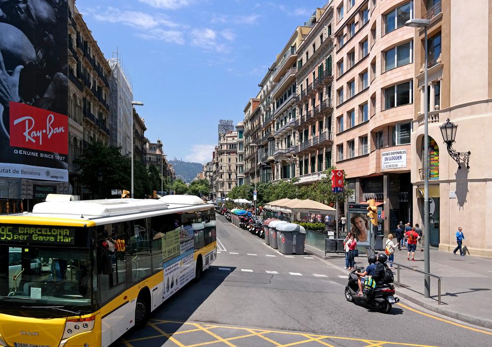 Barcelona-City Tour routes