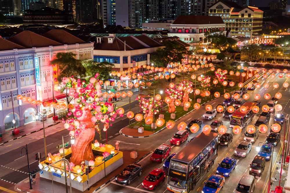 Chinatown with Chinese New Year_385977559
