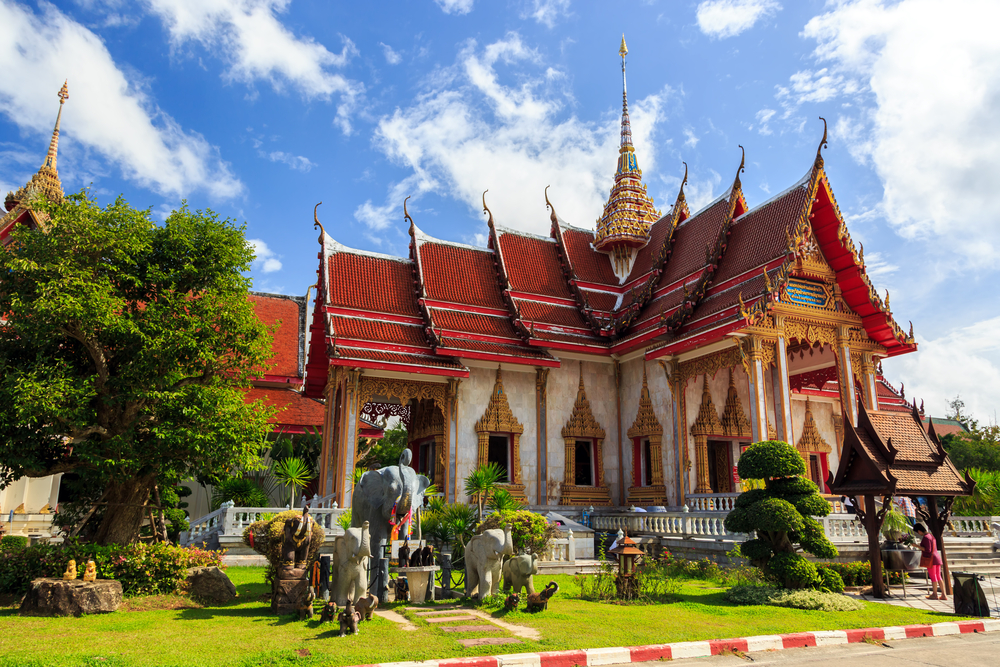 Wat Chalong is the most important temple of Phuket_191006012