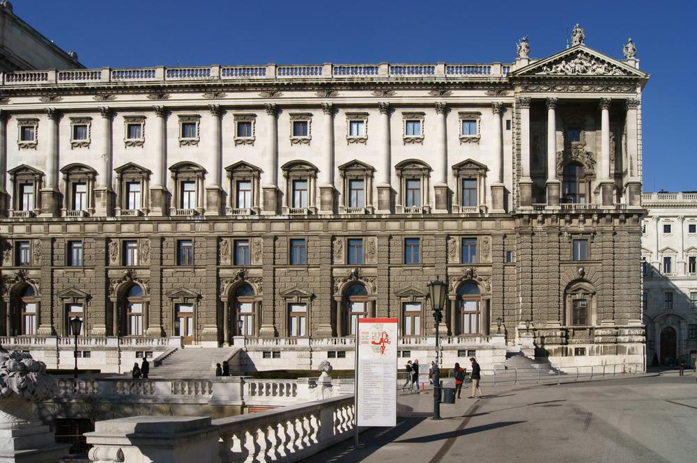 Neue Burg part of Hofburg Imperial palace_380839465
