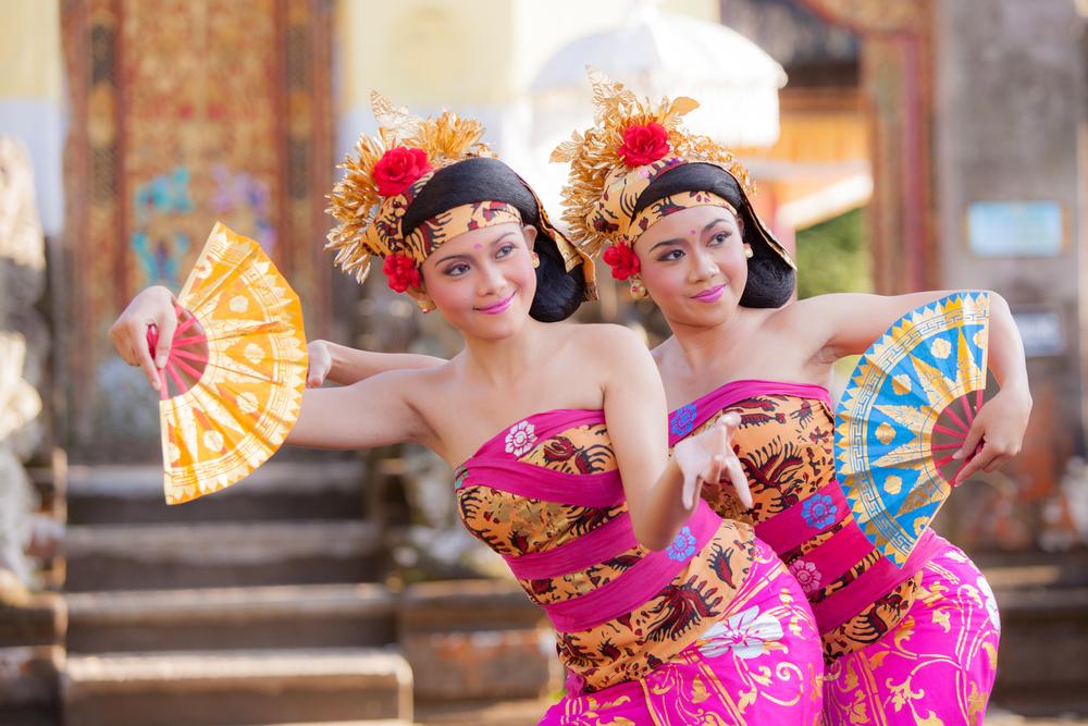 Indonesian dance at Ubud Palace Bali theater_294977324