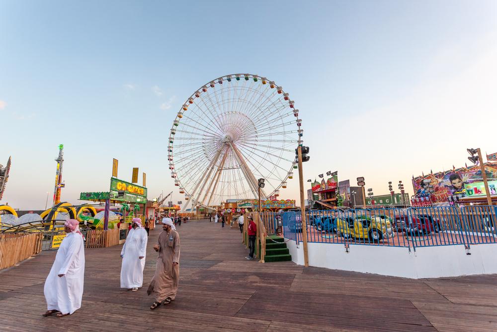 Ferris Wheel at the Global Village_255156943