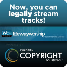 Now you can legally stream tracks!