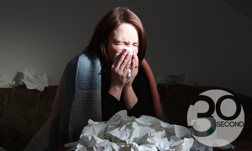 Why Blowing Your Nose The Wrong Way Makes You Sicker... - with logo