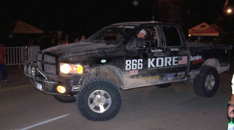 Six-Gun takes 3rd at Baja 1000