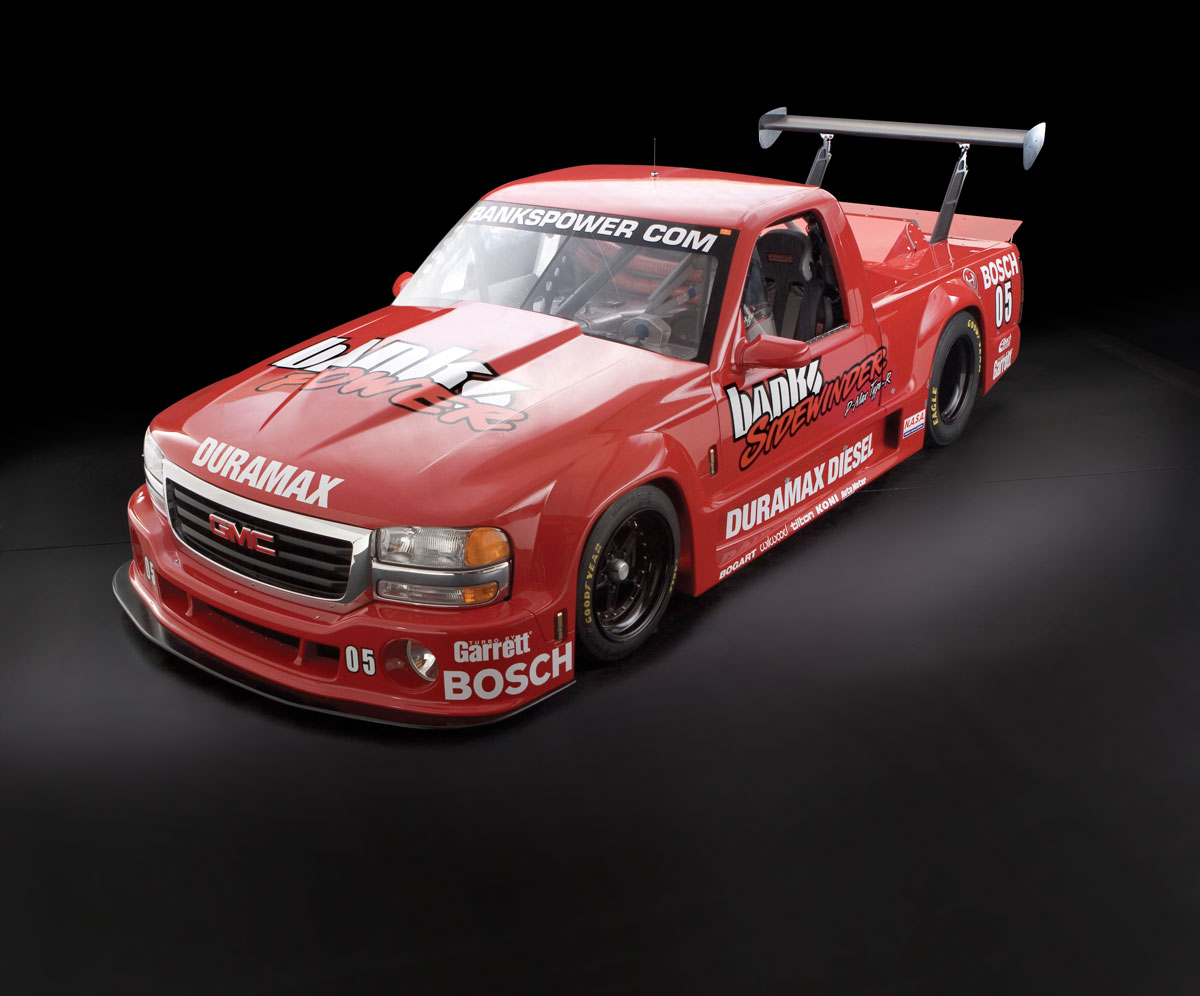 Banks Sidewinder Gmc Sierra Power Gm Duramax Sel Engine Type R On The Track Making Its Rounds