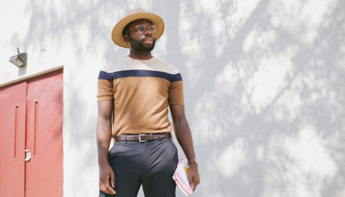 Daily Mister shows off a polished summer look.