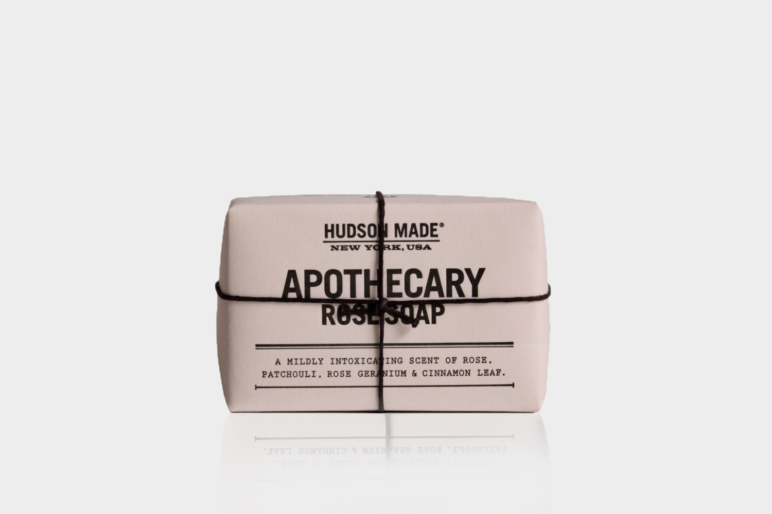 Hudson Made New York Apothecary Rose Soap