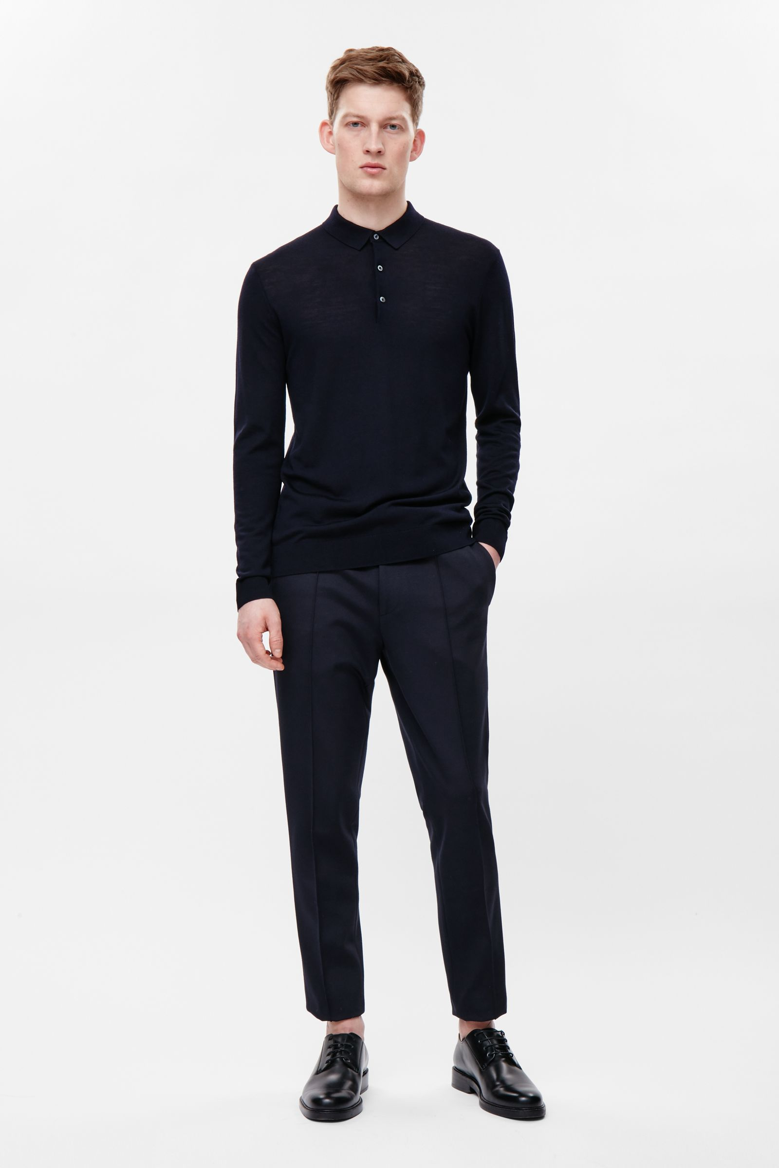 man wearing tailored trousers