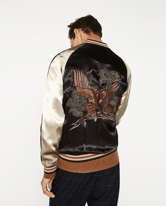 Zara Embroidery jacket product photo