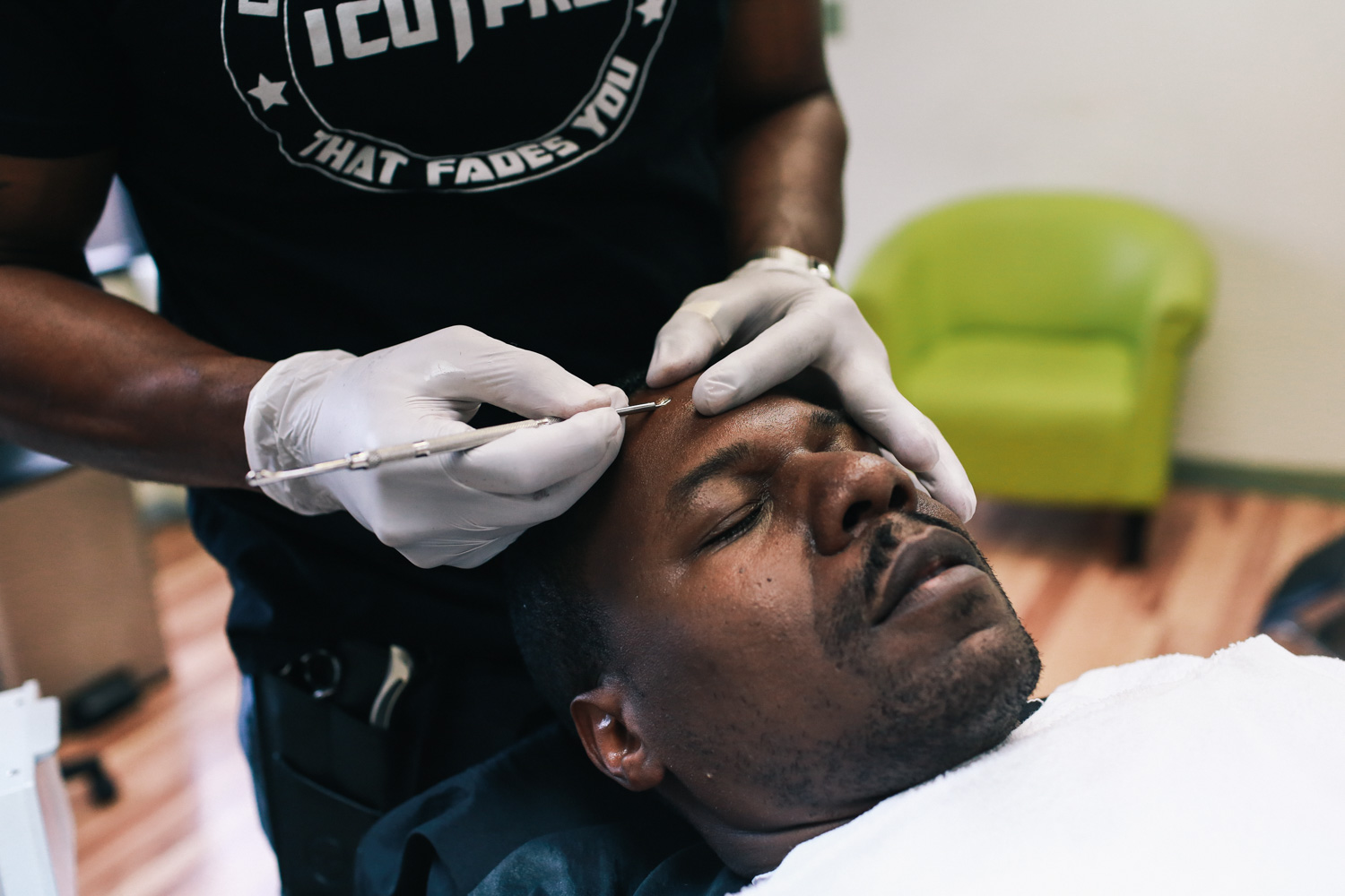 Tyrus gets an extraction at IcutPro