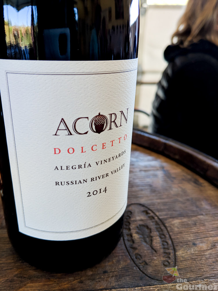 wine road, sonoma county, acorn, acorn winery, dolcetto, field blend, alegria vineyards