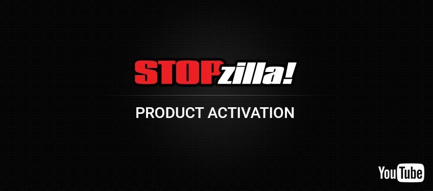 Activate STOPzilla