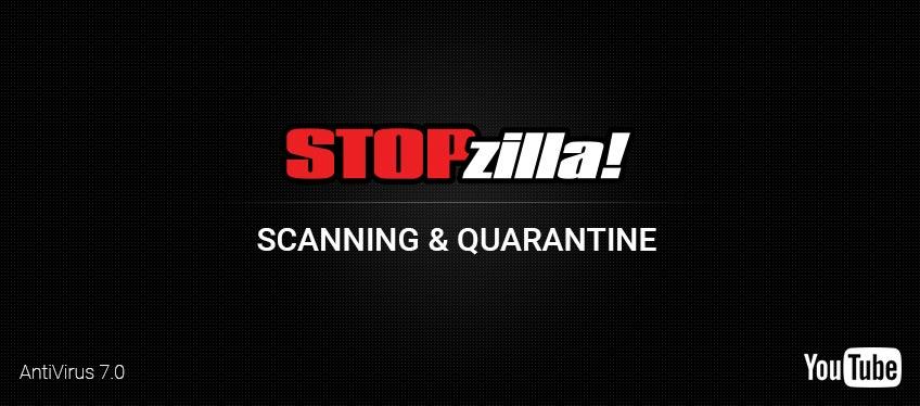 Scanning and Quarantine