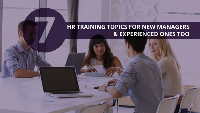 HR Training Topics for Managers eBook cover