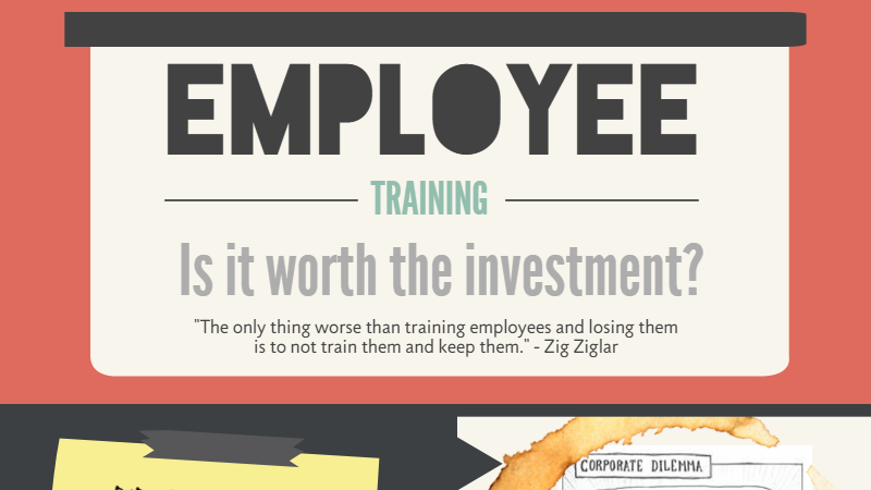 Employee Training Investment Infographic
