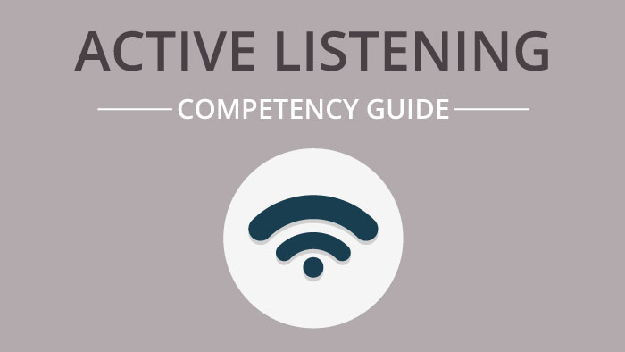 Active Listening competency guide