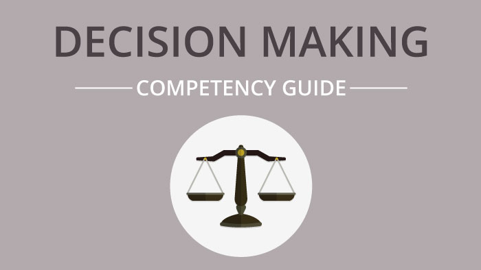 Decision Making competency guide