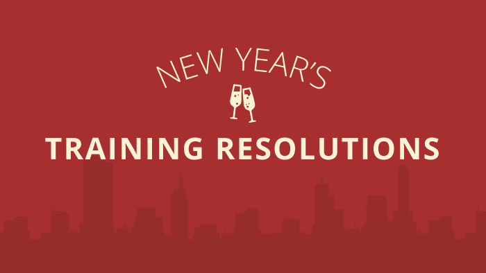 New Year's Training Resolutions ebook cover