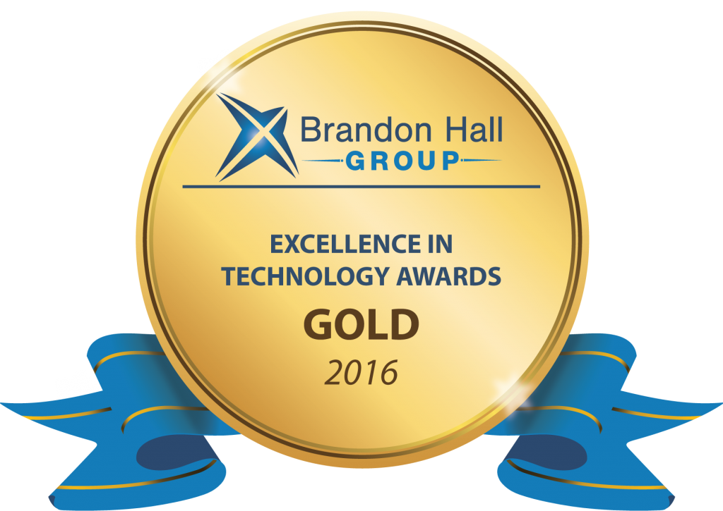 Brandon Hall Group Excellence in Technology Gold Awards