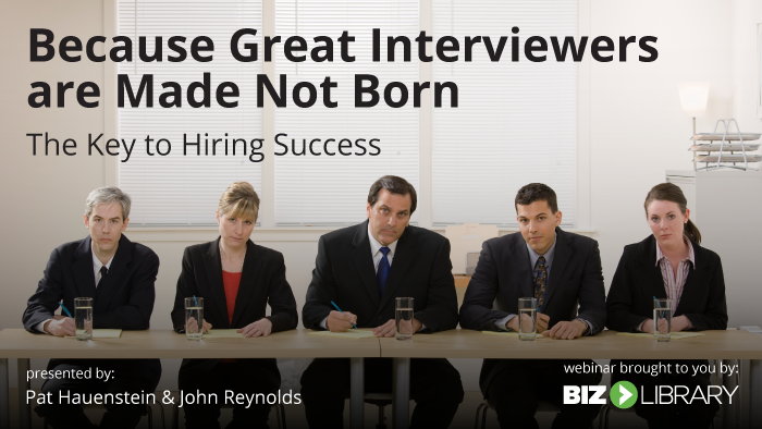the key to hiring success webinar cover